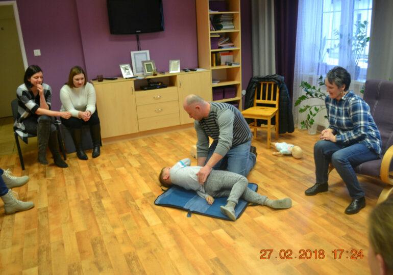 """Spotkanie Grupy Wsparcia """"Orchidea""""  w Ośrodku Interwencji Kryzysowej w Górnie"""