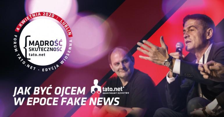 """Konferencja szkoleniowa dla ojców Ojcowskie Forum Tato.Net """"Mądrość i skuteczność"""""""