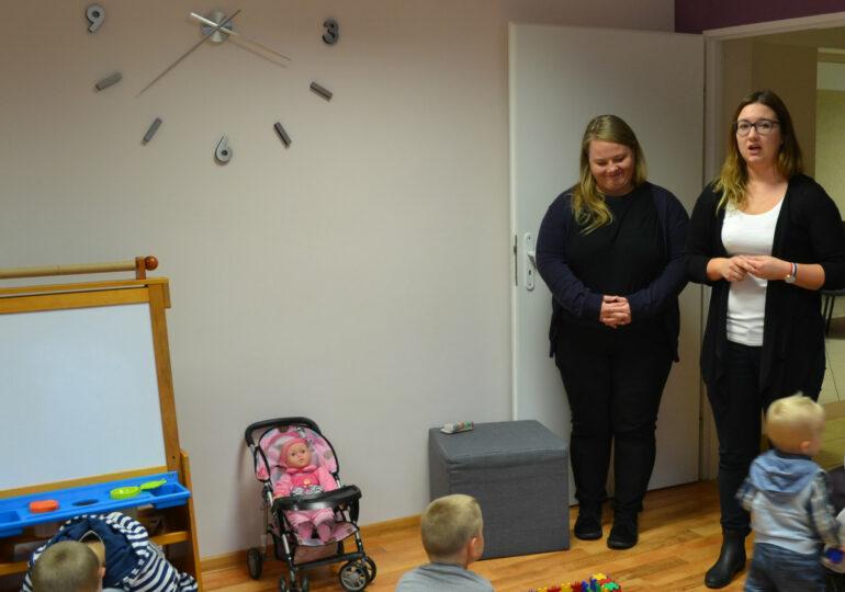 Warsztaty z zakresu przeciwdziałania przemocy w rodzinie dla rodziców i dzieci  w Ośrodku Interwencji Kryzysowej w Górnie