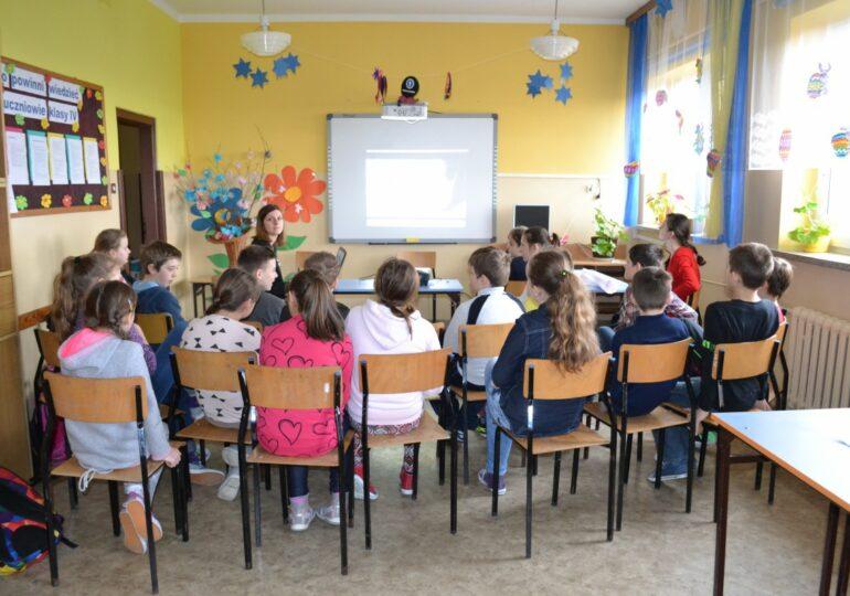 Spotkania profilaktyczno - edukacyjne w Szkołach Podstawowych Powiatu Rzeszowskiego